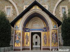 Cyprus - Kykkos monastery, Entrance