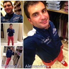 #feelingoodmonferrato a spasso per i negozi di Alessandria. Gian Luca Sgaggero (sphimmstrip.com) ha ricevuto un INVITO PER UN EVENTO GOLFISTICO IN UN ELEGANTE CLUB IN CUI NON SI ESCLUDE UNA PROVA SU CAMPO PRATICA. Si è vestito e ha scattato il suo selfie da Trimmer's (Via San Lorenzo 40).