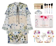 """""""Spring 🌸🌷"""" by stevie-pumpkin ❤ liked on Polyvore featuring Erdem, Sophia Webster and Ted Baker"""