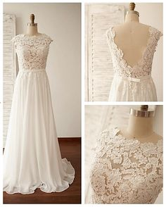a-line dress with nude/sheer lace bodice