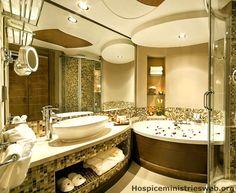Badezimmer sandfarben ~ Ideen für badezimmer braun beige wohn ideen ideen für