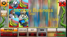 Monkey Business ONLINE & MOBILE Free No Deposit Bonus Play