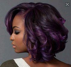 Purple tresses