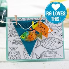 """Whoo-Hoo!! The Spring into Summer Trends Mini is here! Let's explore inspiration and fun techniques. We are breaking down this fun coloring technique for you. It's one of Richard's """"RG"""" favorites."""