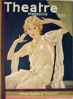 Theatre Magazine, Miriam Hopkins 1930