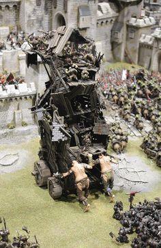 Fantasy Battle, Fantasy Map, Warhammer Fantasy, Warhammer 40k, Goblin, Dungeons And Dragons Miniatures, Tabletop, Warhammer Terrain, Amazing Lego Creations