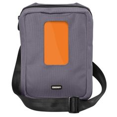 Cocoon Gramercy Messenger Sling... one bag for iphone, ipad and with GRID-IT!™ system for acessories