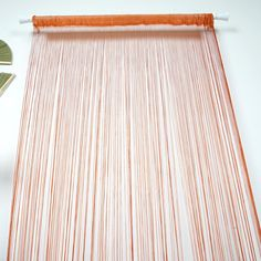 8 Ft Long Coral Silk String Tassels Backdrop Curtains for Party - Clearance SALE 8 Ft Backdrop Curtains Sequin Curtains, Fancy Curtains, String Curtains, Curtain Room, Burlap Curtains, Velvet Curtains, Door Curtains, Backdrops For Parties, Wedding Backdrops
