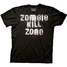 Resident Evil Zombie Kill Zone T-Shirt Graphic Tee Shirts, T Shirts, Royal Blue T Shirt, Zombie Attack, Zombie T Shirt, Resident Evil, One Piece Luffy, Zombie Apocalypse, Men Casual