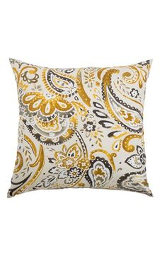comes in red/green Rizzy Home Paisley Outdoor Pillow available at #Nordstrom