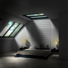Attic Bedroom with Natural Light adiwong FREE Samples @ http://twurl.nl/02km5h