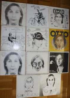 11 x 12  VINYL LPS SCHALLPLATTEN OTTO