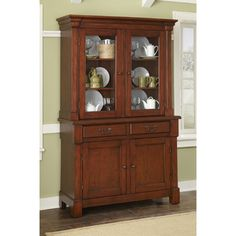 Pretty close to the Cherry Wood Hutch just purchased at a Auction!! but it's older
