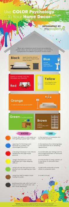 Color Psychology: Home Decor.  | Deloufleur Decor & Designs | (618) 985-3355 | www.deloufleur.com