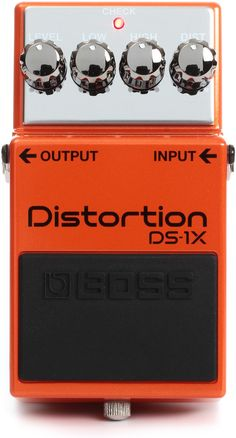 Boss DS-1X Distortion | Sweetwater.com