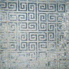 Velvet Keys Hydrangea Contemporary Upholstery Fabric by Robert Allen