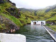 Seljavallalaug pool in Iceland. Not a nice way to end the blog post but good suggestions