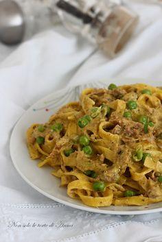 Strepitoso primo piatto la pasta alla Montecarlo non potete perdervela !!