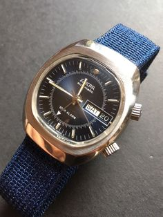 Vintage Enicar Star Alarm Automatic All Steel Mens Watch ( AS 5008 ) Plexus Products, Omega Watch, Watches For Men, Steel, Accessories, Ebay, Vintage Clocks, Men Fashion, Wristwatches