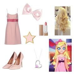 """""""Iris (Lolirock)"""" by character-fashion-27 ❤ liked on Polyvore featuring Prada, Radiant Gem, Forever 21, Marc Jacobs, Stoney Clover Lane and Topshop"""