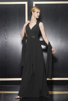 A-line Sweetheart Ruched Bodice High Back Drape Chiffon Evening Dress-soe0073, $196.95