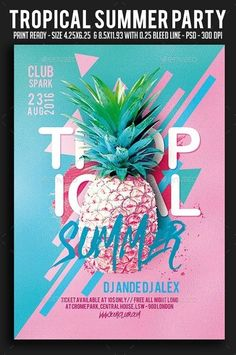 Tropical Summer Party Flyer 20104806