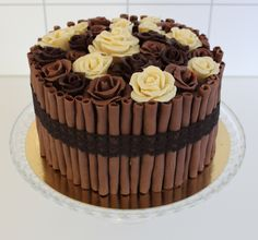 A lovely chocolate cake!