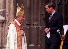Former Church of England Bishop who describes Prince Charles as a 'loyal friend' charged with sex offences dating back to 1977 -- In a statement, the Church of England said it has been 'working closely' with police.