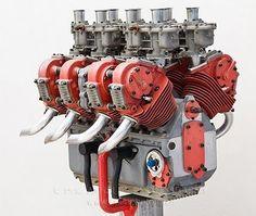 Interesting prototype. Experimental Ducati V8.