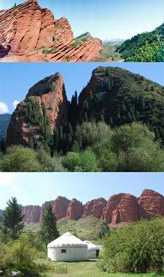 KYRGYZSTAN | Jeti Oguz Gorge, Issyk Kul District