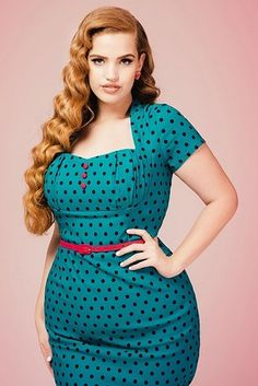 Pinup Girl Clothing | 17 Totally Underrated Places To Shop For Colorful Plus-Size Clothes Online