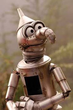 Who is the Muppet he reminds you of ? The Tin Man Puppet