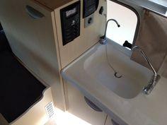 Toyota Landcruiser Pop Top Interior kitchen