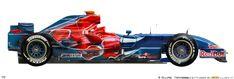 F1 2007, Technical Illustration, Formula 1 Car, Car Drawings, F 1, Race Cars, Racing, Vehicles, Legends