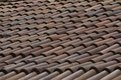 How to Make Realistic Clay Roof Tiles for Dollhouse Miniatures. Good to know..I will be doing these for my villa