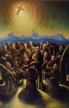 Franciscan martyrs of Castile, at hands of the republican forces 1936 Spanish Civil War
