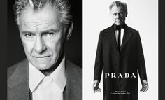 Harvey Keitel for Prada