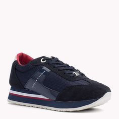 Tommy Hilfiger Suede Mix Sneakers - tommy navy (Blue) - Tommy Hilfiger Sneakers - main image