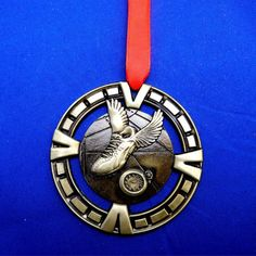 Track & Field Ornament for Coach or Runner Gift Siver by GiftWorks