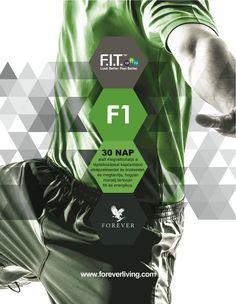 A Forever F.I.T. 1 megmutatja, hogyan maradj mindig energikus és hogyan hozd ki magadból a legjobb formád!