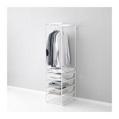 ALGOT 프레임+봉/메시바구니  - IKEA