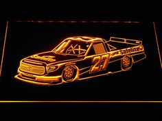 Ben Rhodes Race Car LED Neon Sign