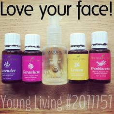 "The best skin-care you'll ever need. Argan oil has a comedogenic rating of ""0"" which won't clog pores and cause break-outs. The these Young Living essential oils, along with carrot seed (SPF of 30-50) and ylang ylang essential oils are some of these best for the face, preventing aging, minimzing scars, and improving hydration and elasticity - all super important as we get older. Love your face and will love you back! by norma"