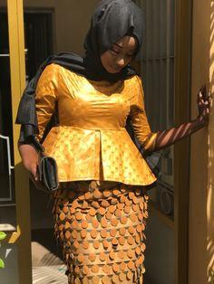 African Attire, African Wear, African Dress, African Print Fashion, African Fashion Dresses, Hijab Fashion Inspiration, African Design, Modest Fashion, Womens Fashion