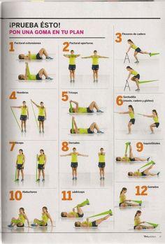 ejercicios cinta elastica - Buscar con Google