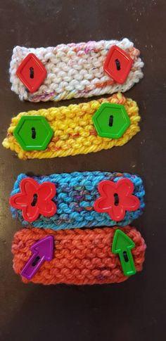 Crochet Crafts, Fabric Crafts, Crochet Projects, Crochet Ideas, Seed Stitch Blanket, Crochet Hooks, Knit Crochet, Crochet Faces, Knitted Headband