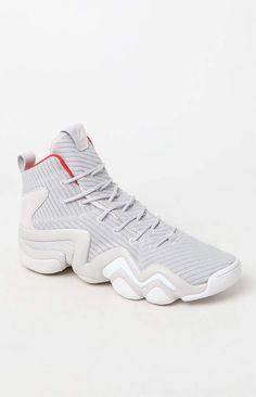 online store bc783 949dc adidas Crazy 8 ADV Primeknit Gray White Shoes. BaloncestoPacsunZapatos  Blancos