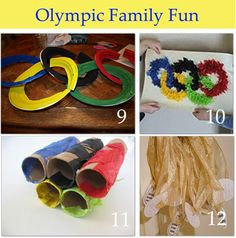 Olympic crafts and family fun!