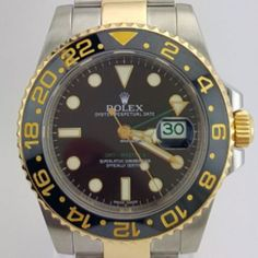 Rolex GMT - Master II 2 Tone Gold and Steel REF:116713LN