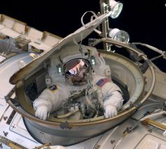 Astronaut Andrew Feustel reenters the Space Station after completing an 8-hour, 7-minute spacewalk at 10:12 a.m. EDT as NASA space shuttle Endeavour makes its last visit to the International Space Station on May 22, 2011 in space. After 20 years, 25 missions and more than 115 million miles in space, Endeavour is on its final flight to the International Space Station before being retired. (Photo by NASA via Getty Images)